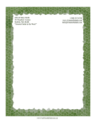 Forest Mosaic Stationery