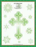 Large Green Cross