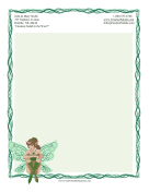 Woodland Fairy Stationery
