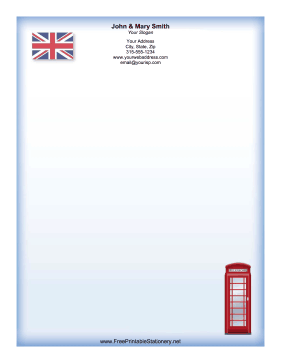 UK stationery design