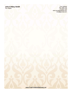 Wallpaper stationery design