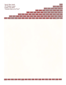 Brick Mason Stationery stationery design